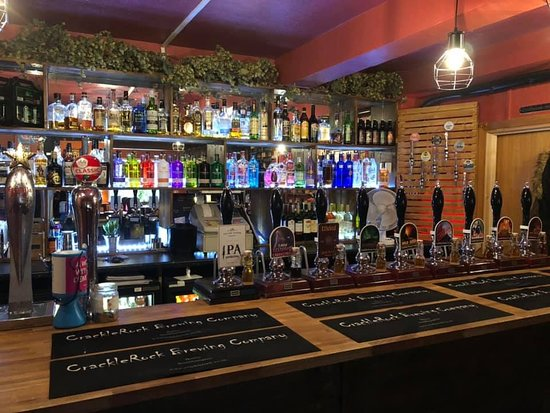 Botley, UK: The new tap room. Behind Clarke Mees estate agent