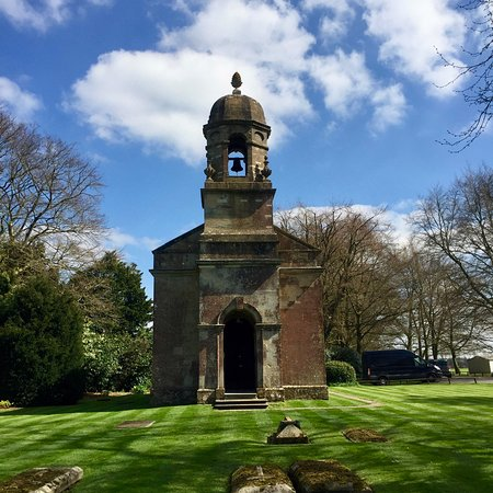 Babington House: The Chapel and check out that sky
