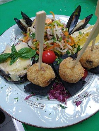 Osteria macramé: Bella e buona cena!