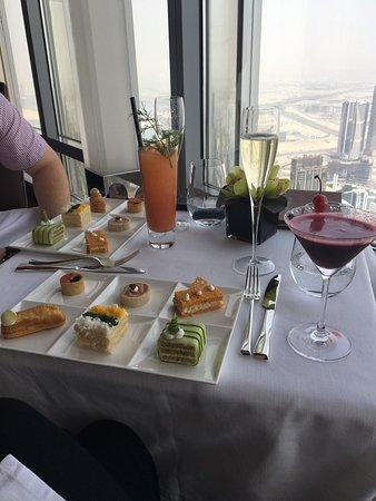 Afternoon Tea at the Burj Khalifa