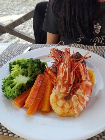Bom jantar na praia