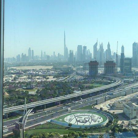 Great view over Dubai!
