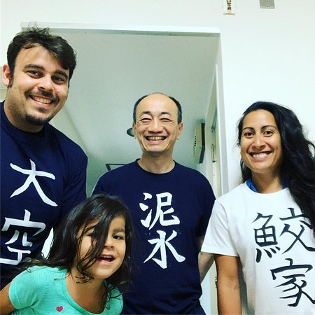 Calligraphy and Make your own Kanji T-shirt in Kyoto: T-shirt Kanji