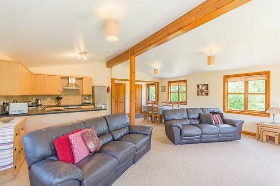 Living area Lodge 7.