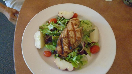 Hesperus, CO: Grilled Salmon Salad  (two at our table)