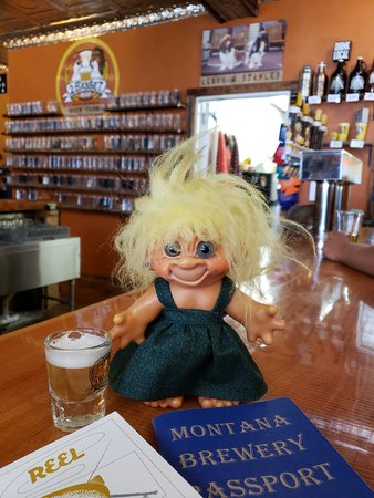 """White Sulphur Springs, MT: Gilda like the """"Breaking Basset"""" the best."""