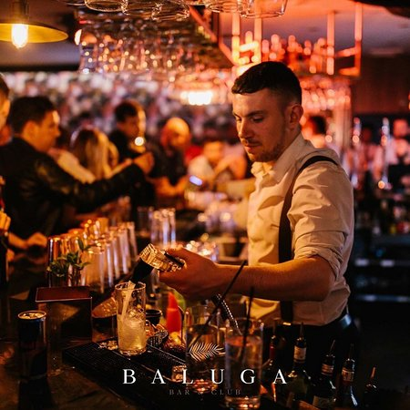 Friday night, downstairs closed! - Review of Baluga Bar