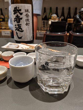 69 Spirits: 様々な飲み方を提案されます