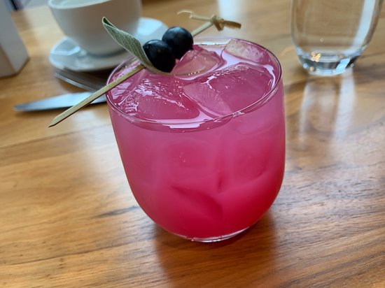 BlackBerry Sage Drink