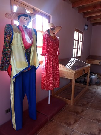 Pukara de Quitor: Museu - vestes