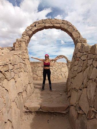Pukara de Quitor: Arco de pedras