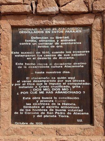 Pukara de Quitor: Homenagem aos atacamenhos degolados defendendo sua fé
