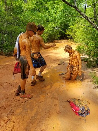 Providence Canyon State Outdoor Recreation Area: So much mud to play in.