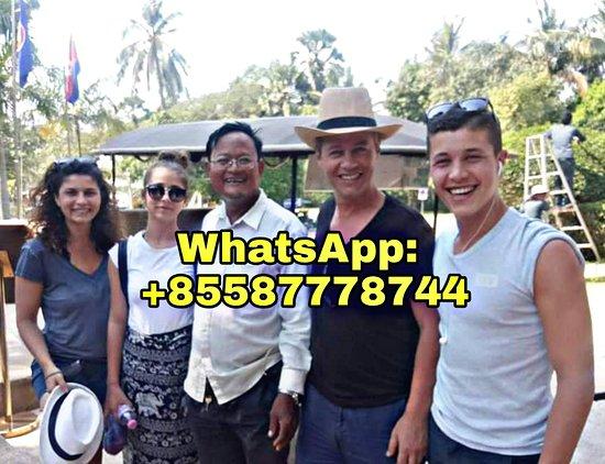 Provincie Siem Reap, Cambodja: Angkor Wat Tour Keam