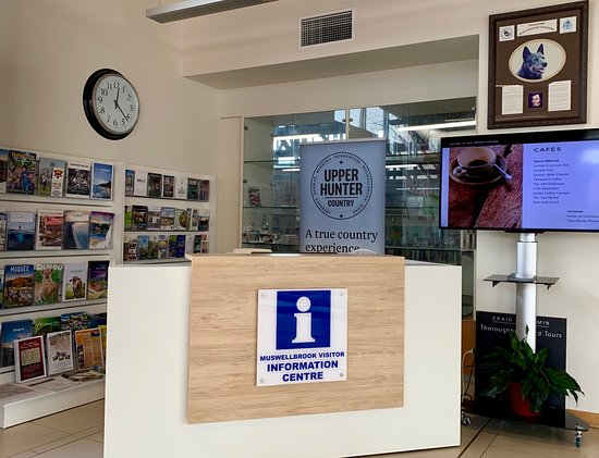 Muswellbrook Visitor Information Centre - Reception