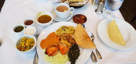 Curry Leaf Restaurant : Indian Buffet with North & South Indian items