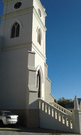 Graceful lines of the church