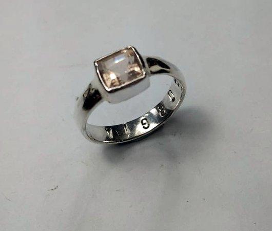 Sanur Jewellery Studio: Chakra Healing Gemstone Tarot Class for Big Groups - Citrine ring with internal stamping