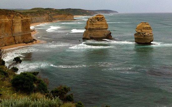 Great Ocean Road, Australia: A reverse view