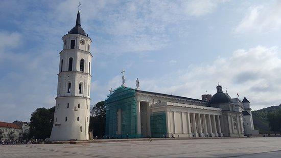 Vilnius, Lithuania: vista laterale