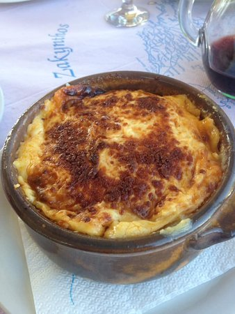 the BEST moussaka in the world
