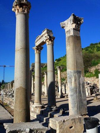 Древний город Эфес: Vista