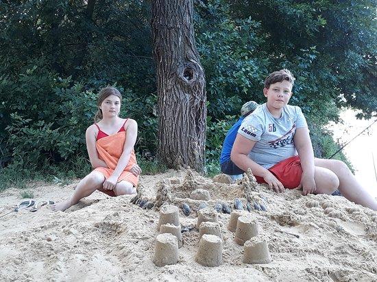 Povorino, Rosja: Васькинн пляж