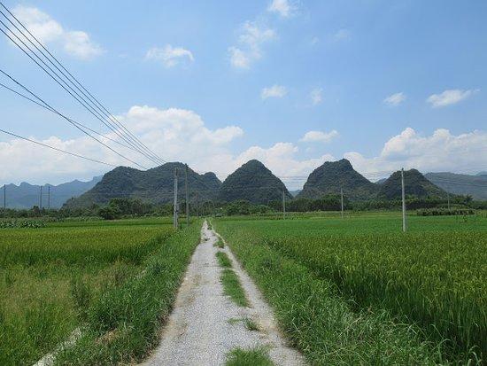 Fengkai County, Čína: 十里畫廊