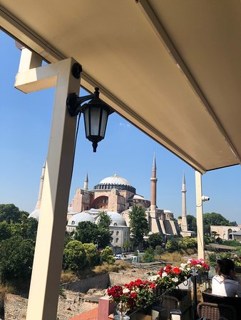 Breathtaking view over Istanbul
