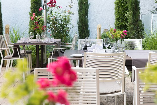 Altdorfer Hof: Terrasse
