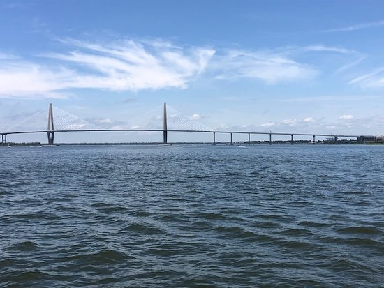 Charleston Harbor History Day-Time or Sunset Boat Cruise: relaxing and fun... the horn blowing experience was so cool... Capt Trips favorite!