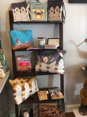 The Treasure Chest: Fiber Arts by local artist Rachel Bane