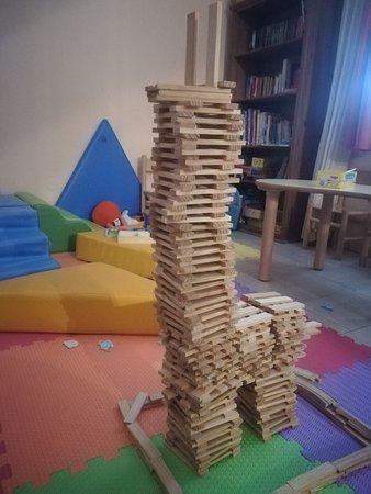 Punta Marina Terme, Italy: Creazione di mia figlia in sala giochi
