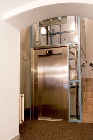 An elevator. You can go to every floor with it.