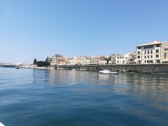 Siracusa in barca con Capitan Mirko