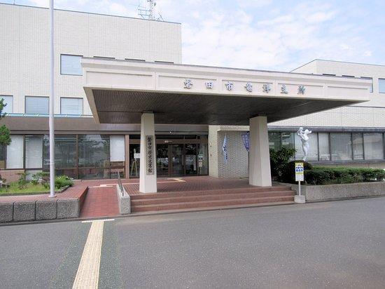 Iwata, Japan: 竜洋支所の2階にある歴史文書館