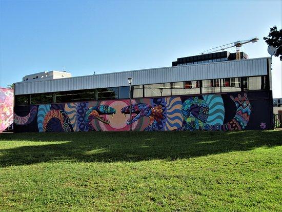Cergy-Pontoise, Fransa: La fresque