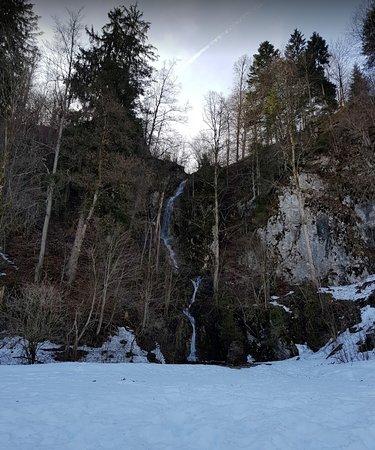 Wasserfall Riessersee