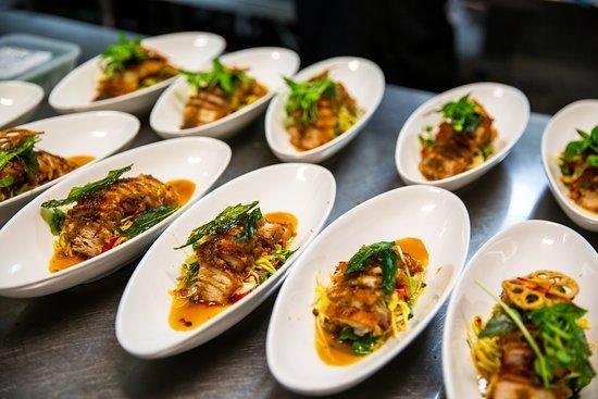 Dusit Dheva: Signature Dish - Pork Belly.