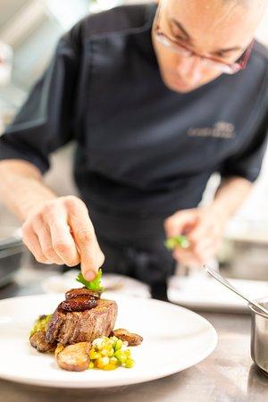"""Notre chef """"cuisine généreuse, la cuisine est un art"""""""