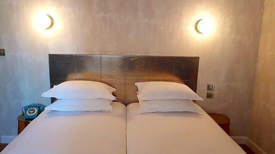 Hotel L'Orque Bleue: Chambre twin standard