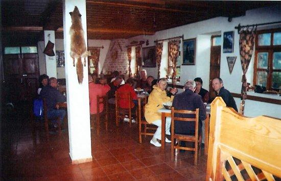 Gramsh, แอลเบเนีย: Restaurant inside Hotel Grabova