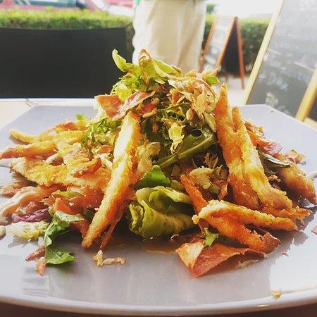 Snackaway Eu: Hähnchensalat mit Panko