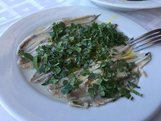 Sirocco: Gavros marinatos... A must try delicacy...!!!
