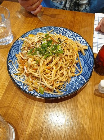 The Marco Polo's Wok chicken, a LOT of really good food ...