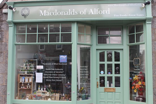 MACDONALDS OF ALFORD