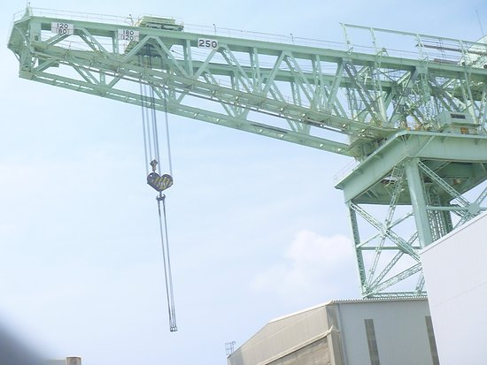 250 Ton - Crane at Sasebo Heavy Industries Co., Ltd.