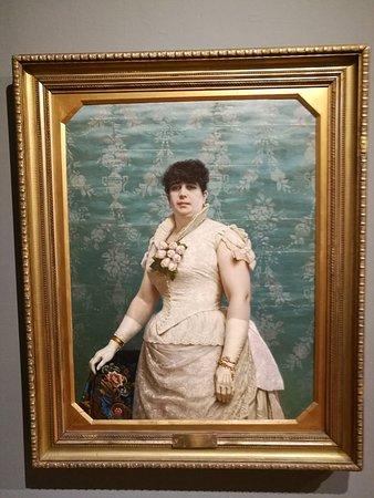Museo Nacional de Artes Visuales: Retrato de Doña Carlota Juan Manuel Blanes