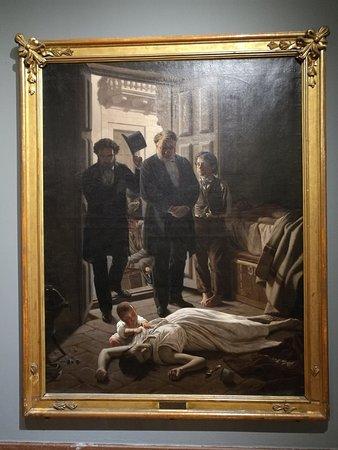 Museo Nacional de Artes Visuales: Juan Manuel Blanes Un episodio de la fiebre amarilla en Buenos Aires