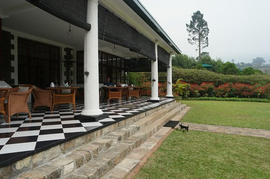 Ceylon Tea Trails - Relais & Chateaux: Tientsin Bungalow - View of Front Porch